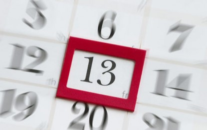 13 ноември 2009 – петък