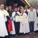 """Софийската командерия """"Княз Борис І"""" беше наградена като най-добрата във Велик приорат България за 2011 г."""