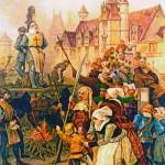 """18 март 1314 г., 18.00 ч. Кладата при катедралата """"Нотр Дам"""" в Париж"""