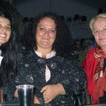 От дясно на ляво, Светлана Тилкова и зам.-кметът по социалните въпроси г-жа Албена Атанасова