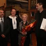 Алена и съпруга й Андрей с Йорданка Благоева и Валентин Гетов