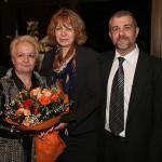 Алена, столичния кмет г-жа Йорданка Фандъкова и Андрей Тилков