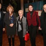 Посланикът на Австрия Герхард Райвегер, столичния кмет г-жа Йорданка Фандъкова, Алена, Мария и Румен Нейкови