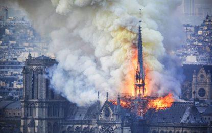 Пожарът в Нотр Дам – Мъст на прероден грабител